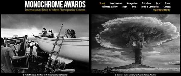 Monochrome Photography Awards 2016